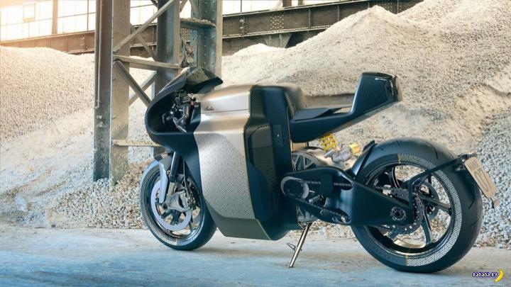 Электрический мотоцикл Manx7
