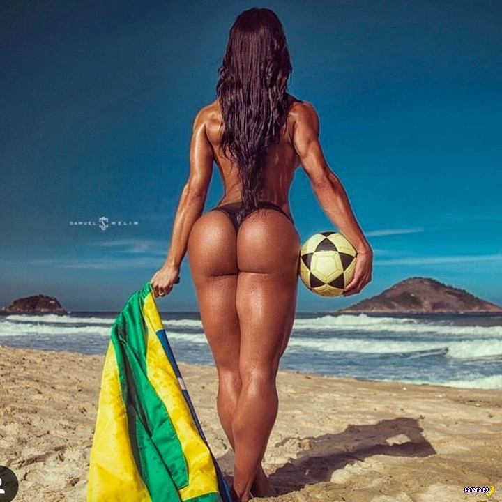 Бразильское тело - Грациана Барбоза