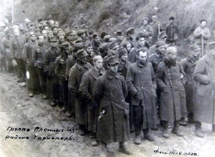 Интересная фотография –конец 14-й гренадерской дивизии СС