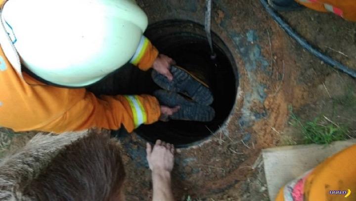 Газ из канализации чуть не убил двух белорусов