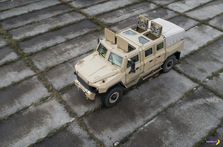 Российский бронеавтомобиль «Буран»