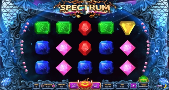 Новые игры от Вулкана – слот Spectrum
