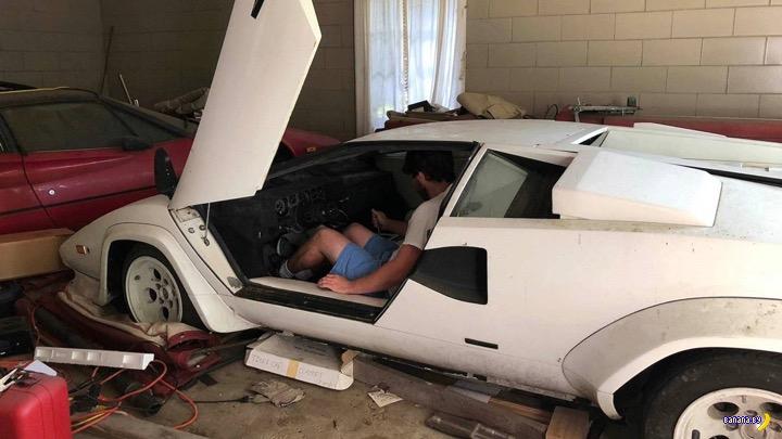 Клад с Lamborghini от дедушки
