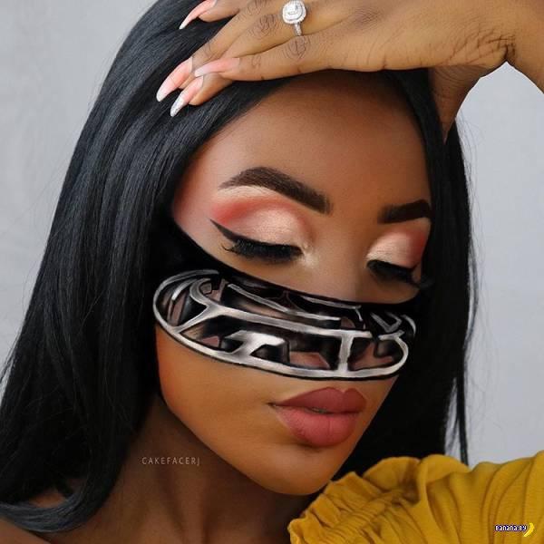 Иллюзии на лице