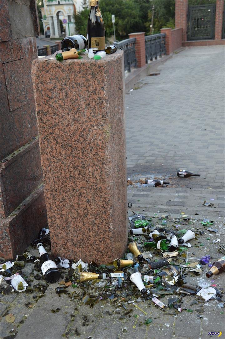 Несчастный Каменный мост в Воронеже
