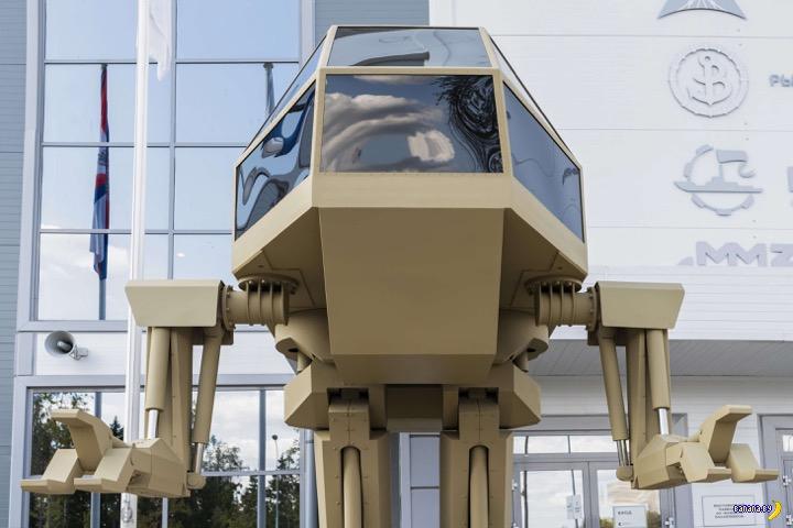 Боевой робот «Игорёк»