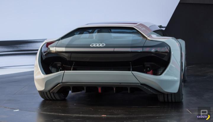 Audi PB 18 E-Tron –ты космолёт!