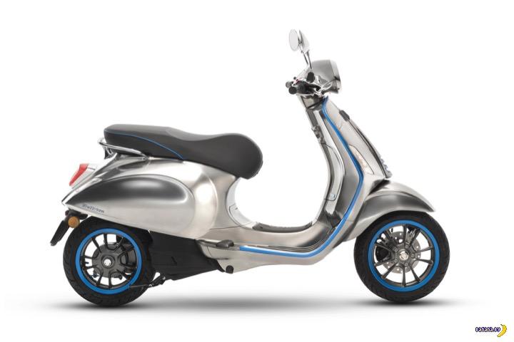 Электрический скутер Vespa – скоро в продаже!