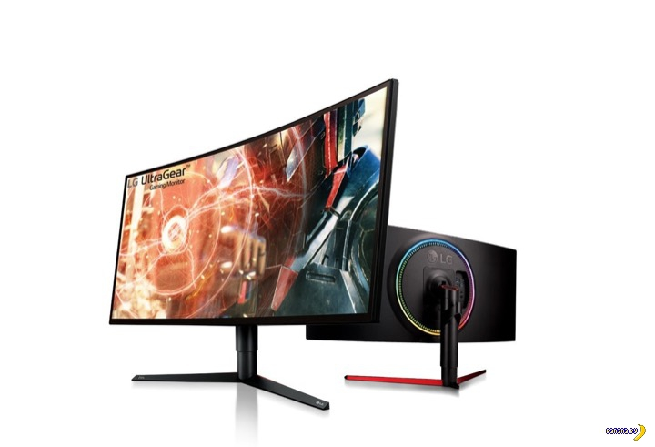 Новый монитор от LG–не только кривой, но и с подсветкой!