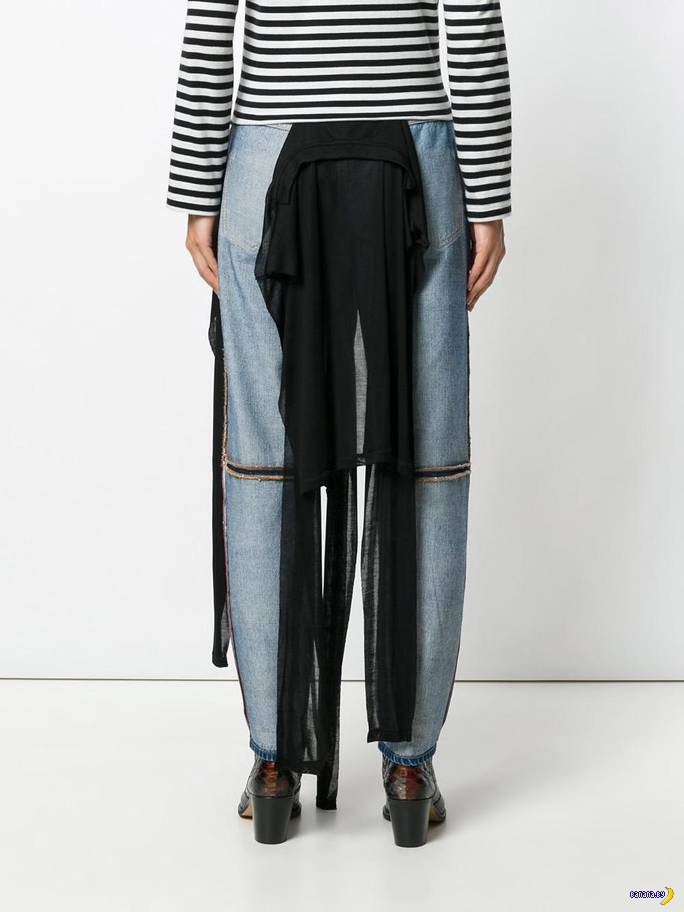 В мир моды врываются джинсы наизнанку!