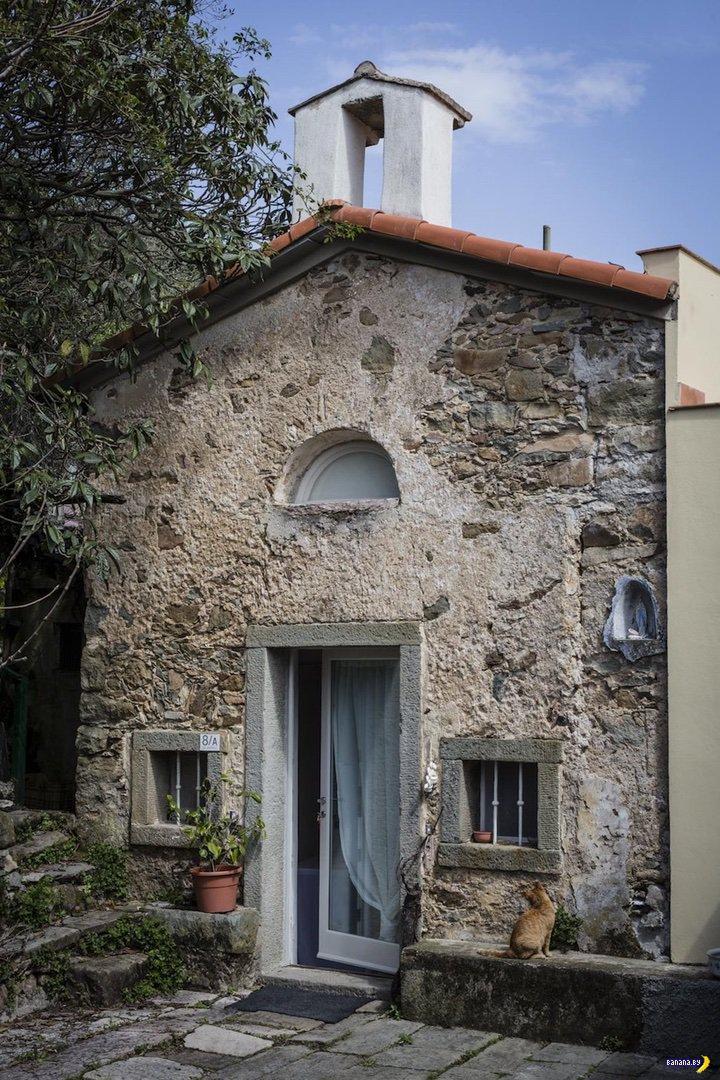 Жилой дом из часовни