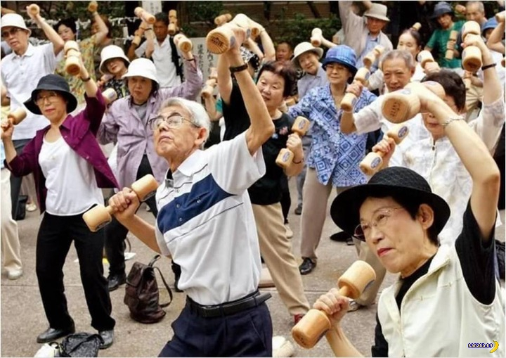 В Японии тоже пенсионная реформа