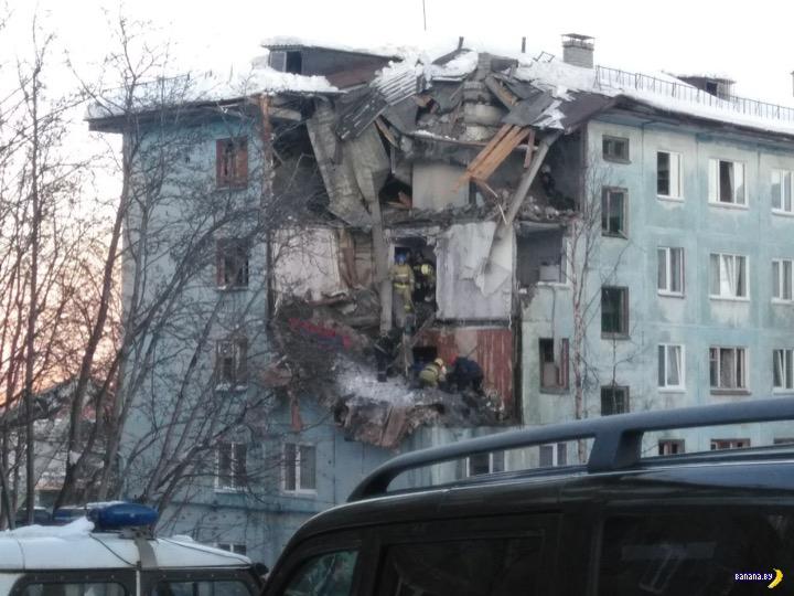 """В Мурманске """"починили"""" дом после взрыва газа"""