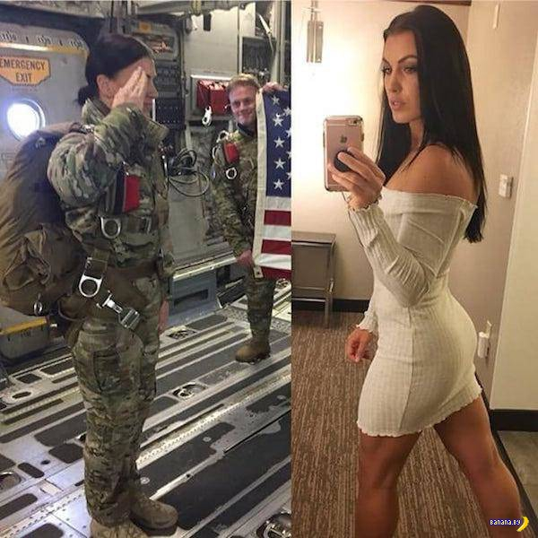 Девушкам идёт униформа!