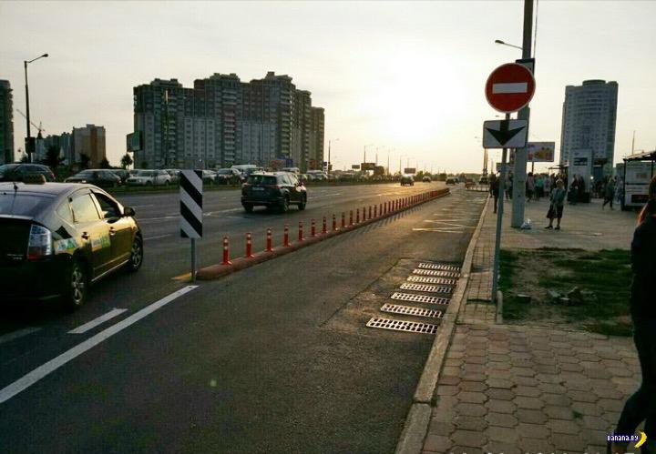 В Минске начали ставить делиниаторы