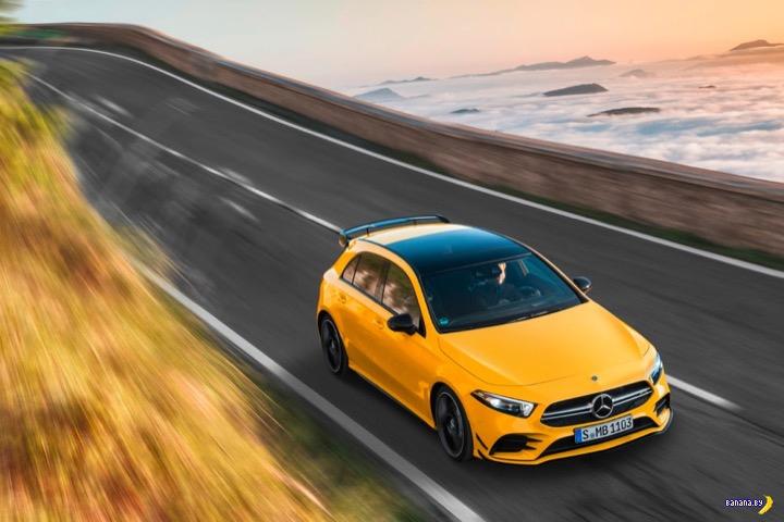 Банановый 2019 Mercedes-AMG A 35