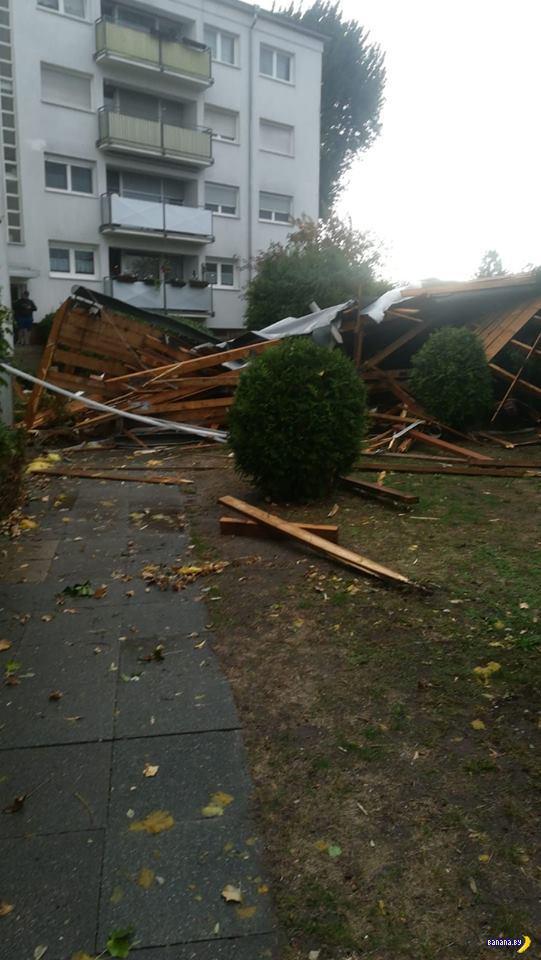 Ураган «Фабьен» крушит Европу и идёт к нам!