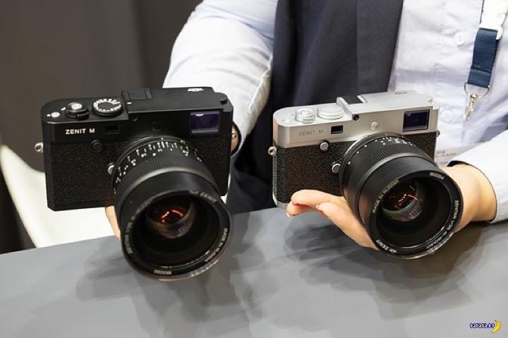 Возрождение советской марки фотоаппаратов Зенит