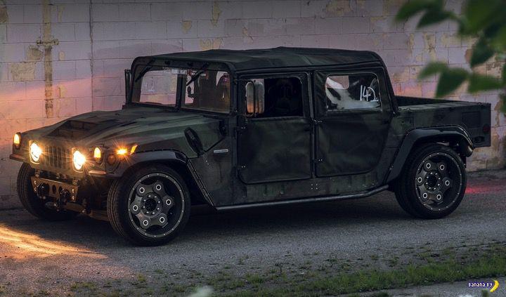 Гоночный Hummer H1