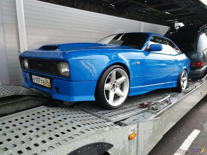 Превращение BMW в Москвич