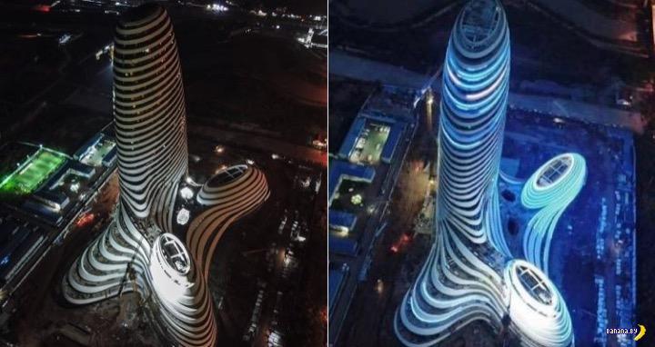 В Китае построили небоскрёб, а он похож на пенис!