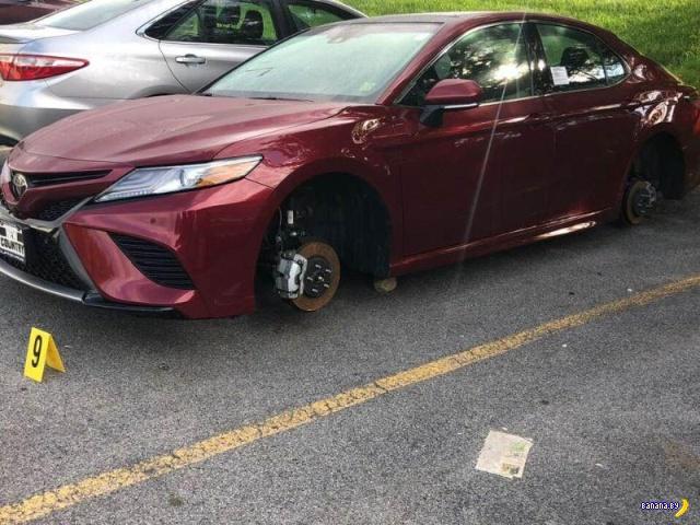 В продажу поступят новенькие колёса