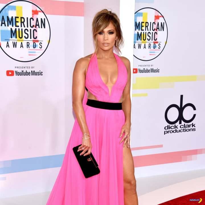 Дженнифер Лопес на American Music Awards 2018