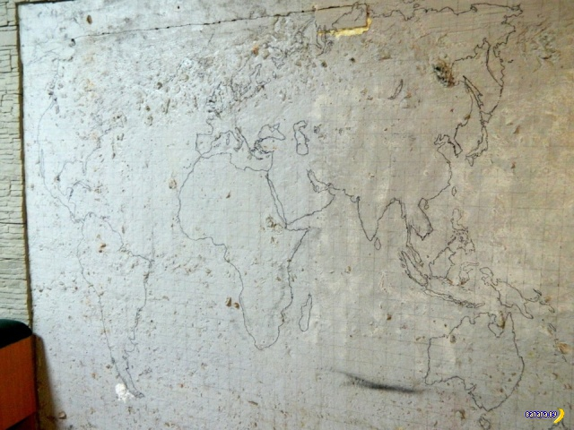 Карта мира на стене своими руками!