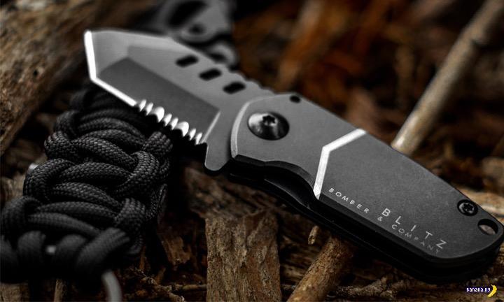 Карманный ножик Bomber & Company B-2 Blitz