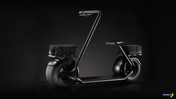 Stator - стильный складной электрический самокат