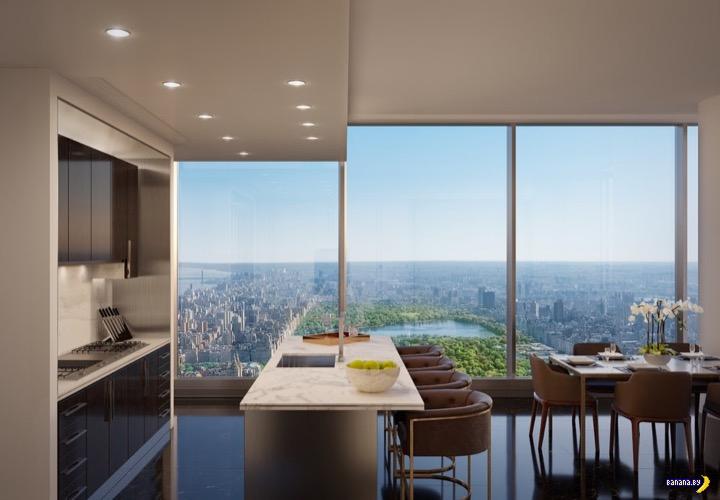 Квартиры с видом на Центральный парк в Нью-Йорке