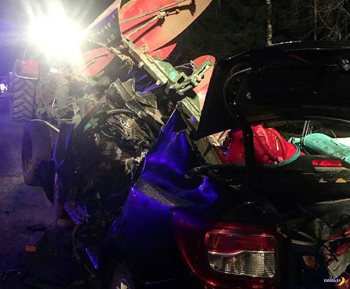 Страшная авария на Могилёвщине