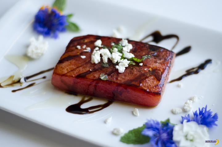 Мясо из арбуза