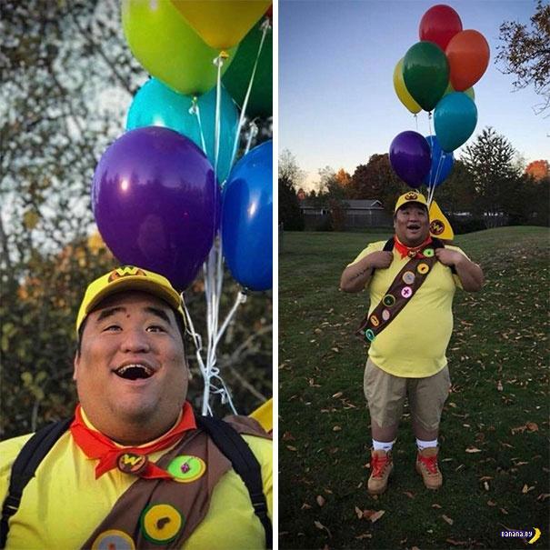 Лучшие костюмы на Хеллоуин в этом году!