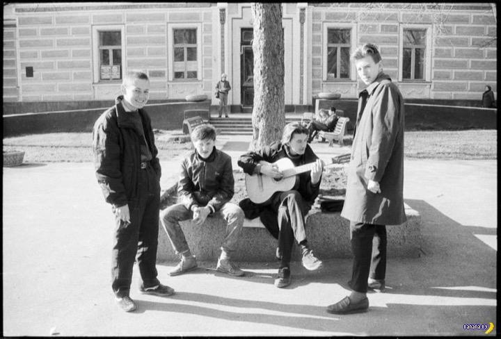 СССР на черно-белых фото