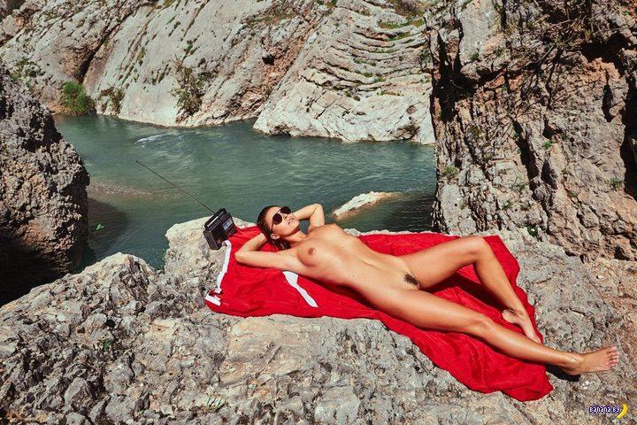 Мариса Папен –голая в Турции
