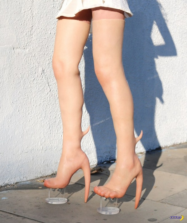 На пятках выросли каблуки