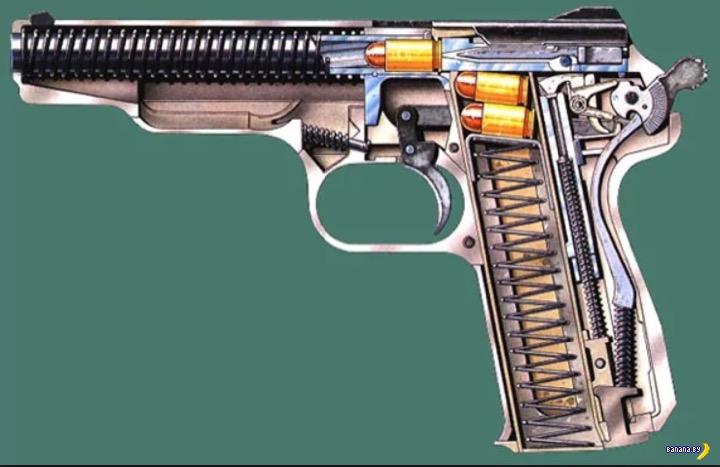 Разрядил пистолет Стечкина себе в голову
