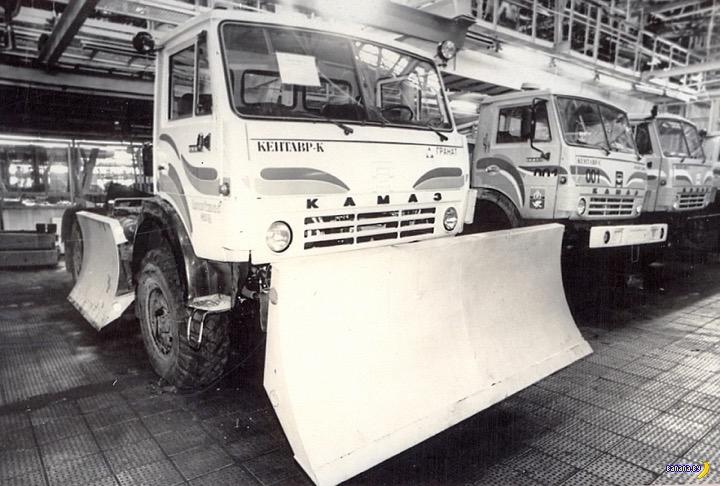 Как КАМАЗ пытался трактора выпускать