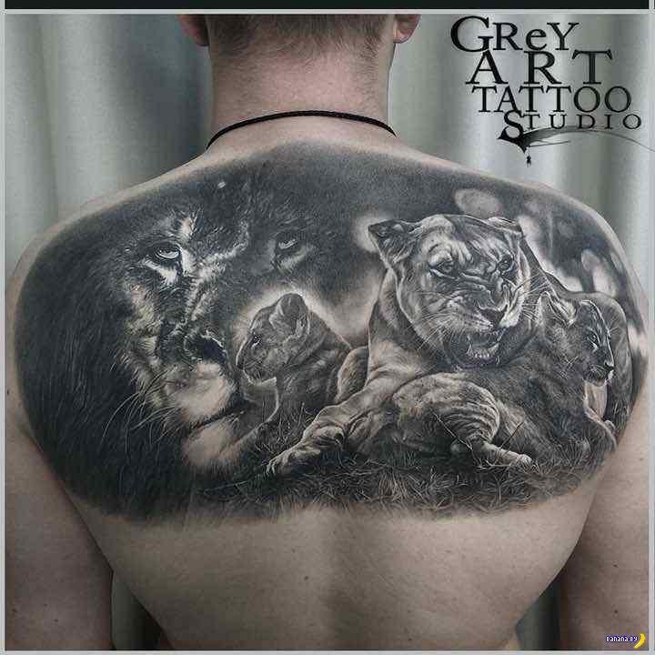 Татуировки на зависть - 111 - Александр GReY Харцыз