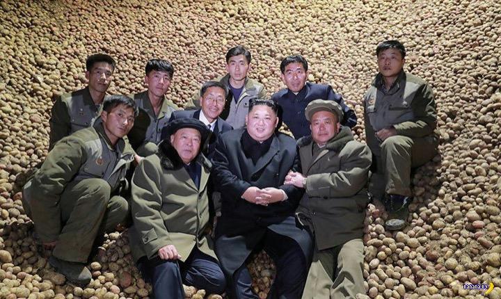 Ким Чен Ын и Великая Картофельная Нация
