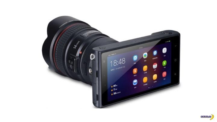 Смартфон превращается в цифровую фотокамеру!