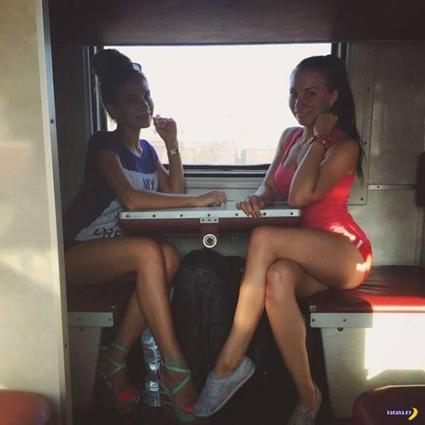 Самые поездатые девушки