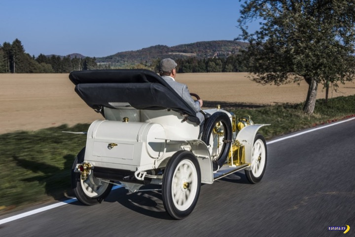 Самый старый автомобиль Škoda