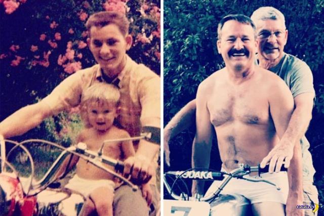 Сквозь время: воссоздание старых семейных фото