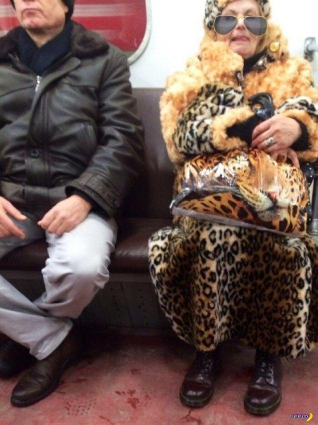 Модники в метро - 12
