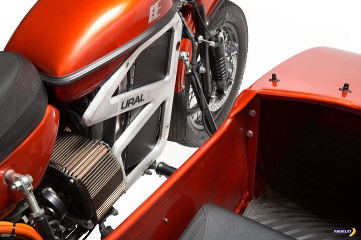 Скажи 3 главных слова –электрический мотоцикл Урал!