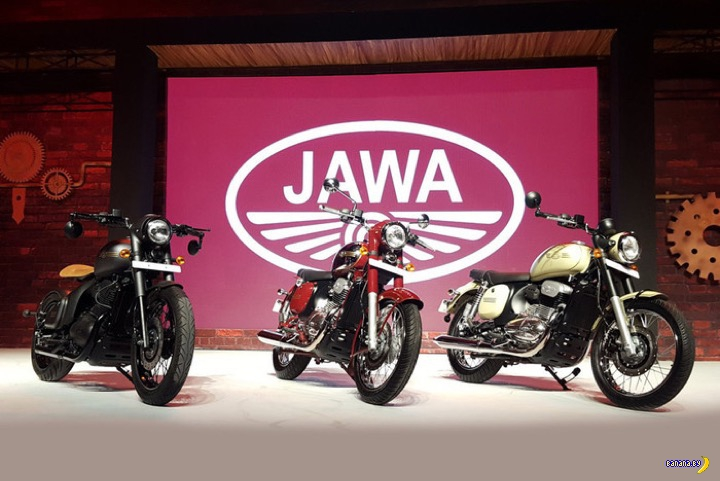 Возвращение мотоциклов JAWA