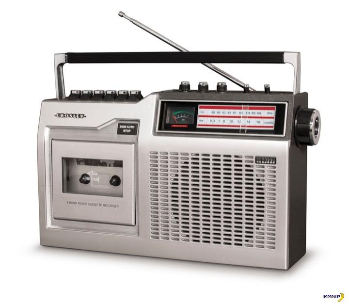 Зачем-то начали выпускать кассетники