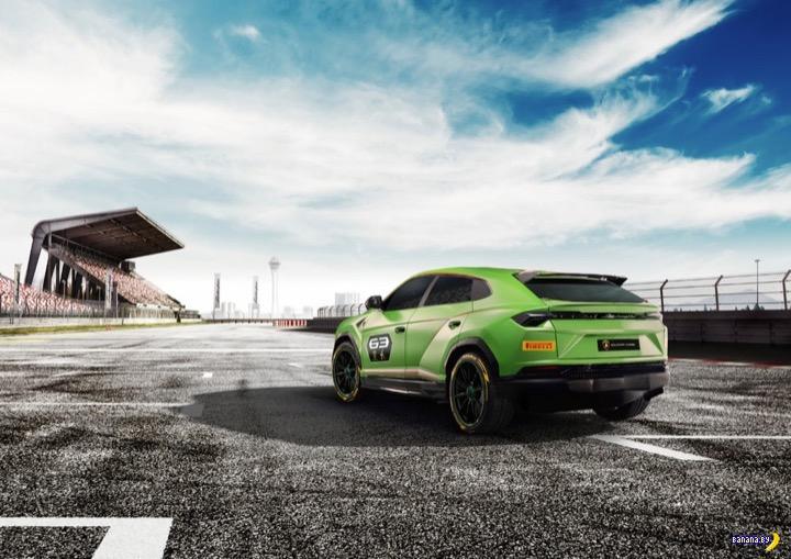 Гоночный кроссовер Lamborghini